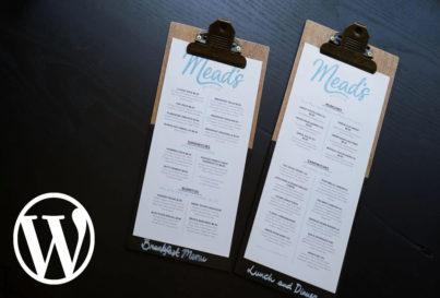WordPress уеб сайт за… ресторант [поредица]