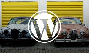 Обновяване на WordPress уеб сайт със (много) стара версия