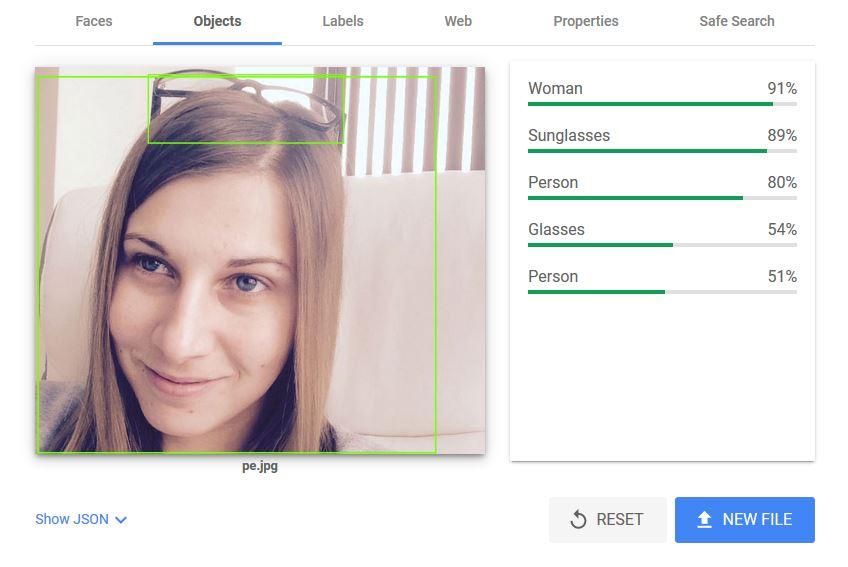 оптимизиране на изображения - Vision AI - Objects